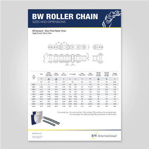 BW Roller Chain BS